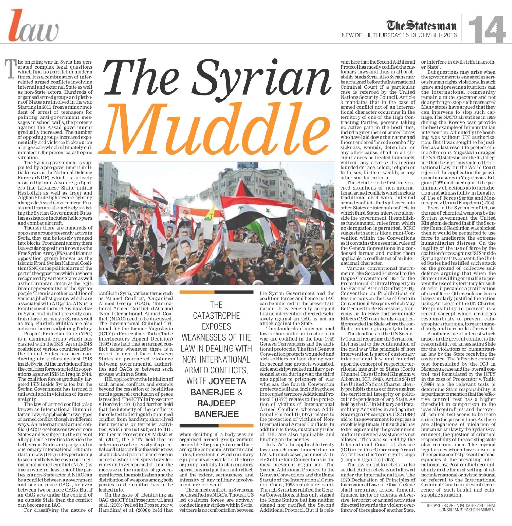 TheSyrianMuddle